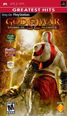 God of War: Chains of Olympus (Sony PSP, 2008) Greatest Hits - Games Found Here