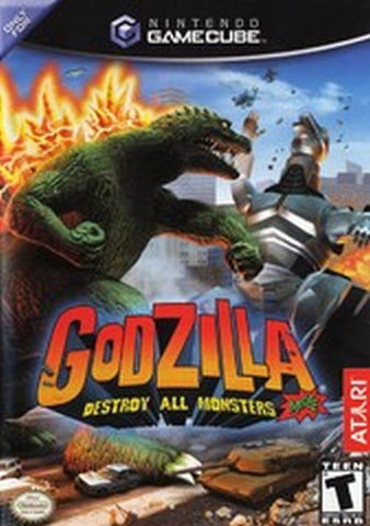 Godzilla: Destroy All Monsters Melee (Nintendo GameCube, 2002)