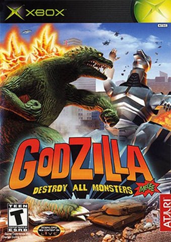 Godzilla: Destroy All Monsters Melee (Microsoft Xbox, 2003)