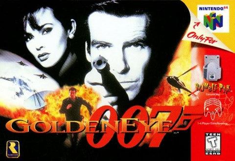 Golden Eye 007 James Bond N64 (Nintendo 64, 1997)