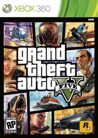 Grand Theft Auto V (Microsoft Xbox 360, 2013) Replacement Disc 2 ONLY