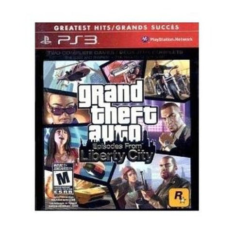Grand Theft Auto: Episodes From Liberty City (Sony PlayStation 3, 2010) GTA