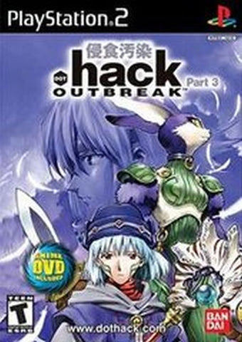 .hack//OUTBREAK (Sony PlayStation 2, 2003) Complete