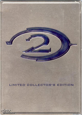 Halo 2: Limited Collector's Edition (Microsoft Xbox, 2004) No Instructions