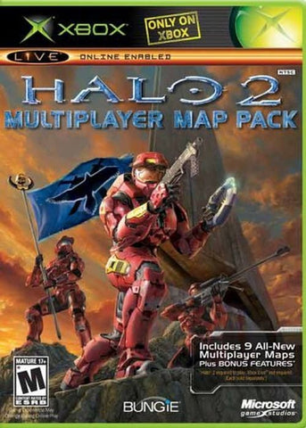 Halo 2 Multiplayer Map Pack (Microsoft Xbox, 2005) Complete