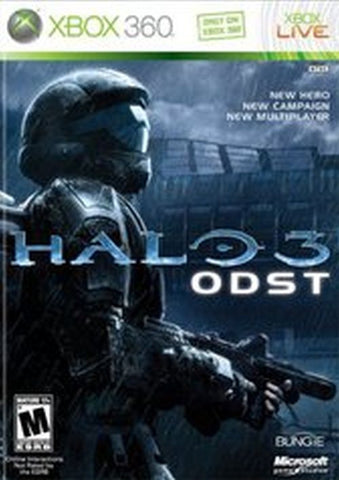 Halo 3: ODST (Microsoft Xbox 360, 2009) Complete