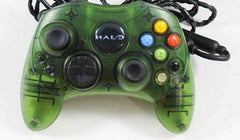 Official Halo Edition Original Microsoft Xbox Wired Controller Gamepad - Games Found Here  - 1