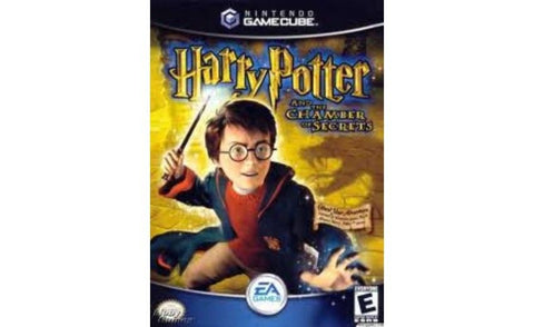 Harry Potter and the Chamber of Secrets  (Nintendo GameCube, 2002) Complete