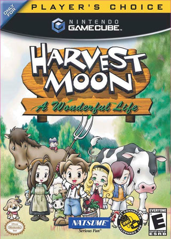 Harvest Moon: A Wonderful Life (Nintendo GameCube, 2004) Complete