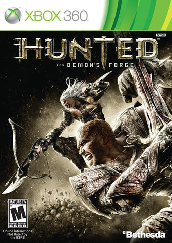 Hunted: The Demon's Forge  (Xbox 360, 2011) Complete