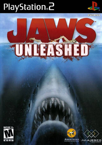 Jaws Unleashed  (Sony PlayStation 2, 2006) Complete