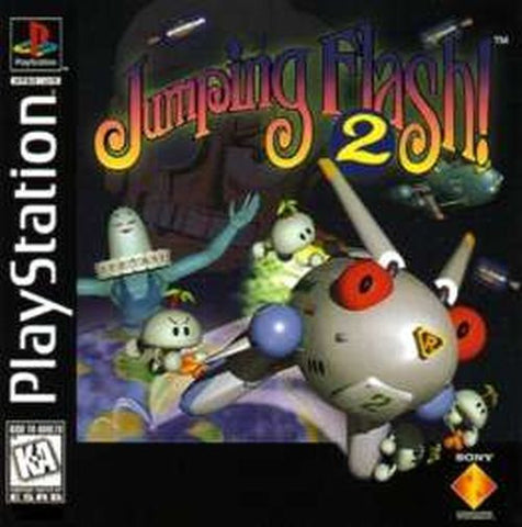 Jumping Flash 2 (Sony PlayStation 1, 1996)