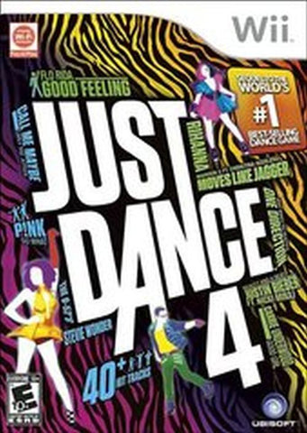 Just Dance 4  (Nintendo Wii, 2012) Complete