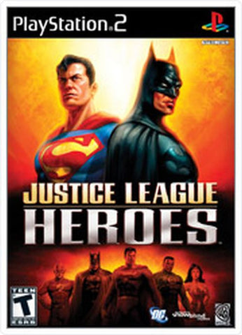 Justice League Heroes (Sony PlayStation 2, 2006) Complete