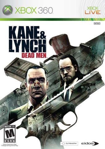 Kane & Lynch: Dead Men (Microsoft Xbox 360, 2007)