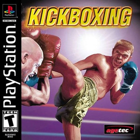Kickboxing (Sony PlayStation 1, 2002) Factory Sealed