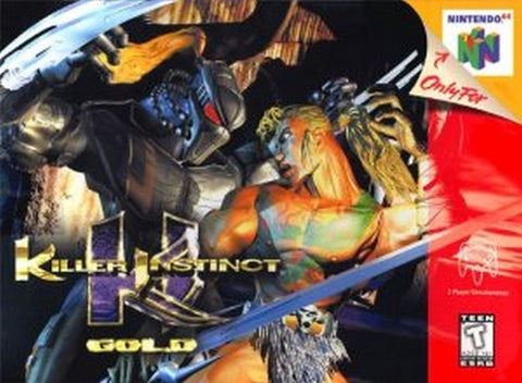 Killer Instinct Gold (Nintendo 64, 1997)
