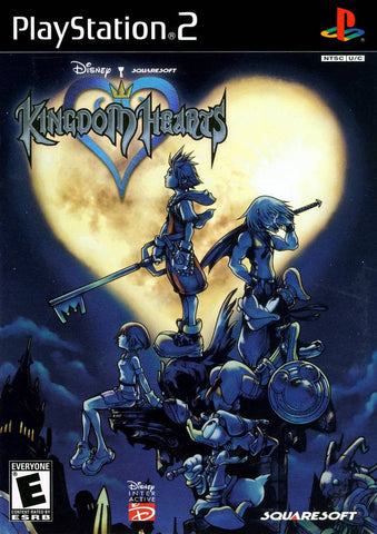 Kingdom Hearts (Sony PlayStation 2, 2003) Disc Only