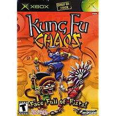 Kung Fu Chaos (Microsoft Xbox, 2003) Complete