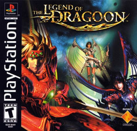Legend of Dragoon  [Black Label] (Sony PlayStation 1, 2000)