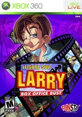 Leisure Suit Larry: Box Office Bust (Microsoft Xbox 360, 2009)