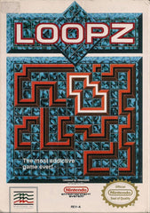 Loopz (Nintendo Entertainment System, NES, 1990) - Games Found Here