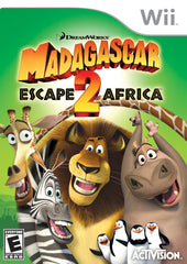 Madagascar: Escape 2 Africa (Nintendo Wii, 2008) - Games Found Here