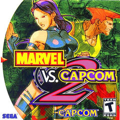 Marvel vs. Capcom 2 (Sega Dreamcast, 2000) - Games Found Here