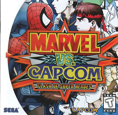 Marvel vs. Capcom: Clash of Super Heroes (Sega Dreamcast, 1999) - Games Found Here
