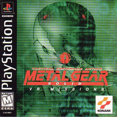 Metal Gear Solid: VR Missions (Sony PlayStation 1, 1999) Complete - Games Found Here
