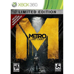 Metro: Last Light -- Limited Edition (Microsoft Xbox 360, 2013) Complete - Games Found Here