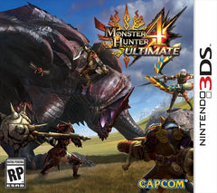Monster Hunter 4 Ultimate (Nintendo 3DS, 2015) Complete