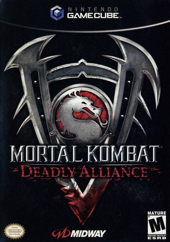 Mortal Kombat: Deadly Alliance (Nintendo GameCube, 2002) Complete