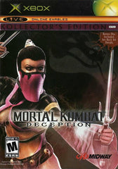 Mortal Kombat: Deception -- Kollector's Edition (Microsoft Xbox, 2004) Complete - Games Found Here