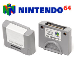Original Official Nintendo 64 Controller Pak Memory Card NUS-004 OEM - Games Found Here  - 1