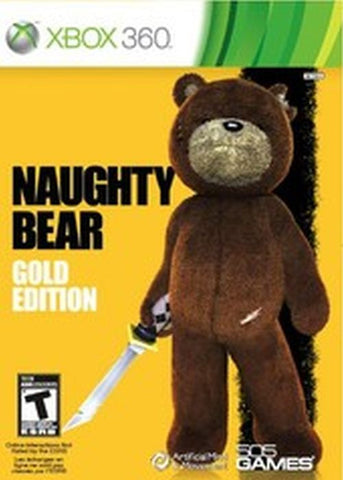 Naughty Bear: Gold Edition (Microsoft Xbox 360, 2011)