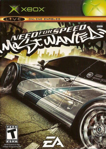 Need for Speed: Most Wanted  (Microsoft Xbox, 2005) Complete