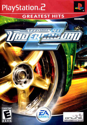 Need for Speed: Underground 2 Greatest Hits (Sony PlayStation 2, 2004) Complete