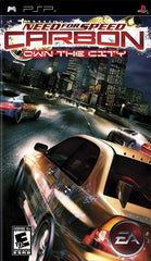Need for Speed: Carbon -- Own the City (Sony PSP, 2006) - Games Found Here