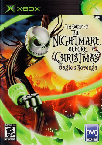 Tim Burton's The Nightmare Before Christmas: Oogie's Revenge (Microsoft Xbox, 2005)