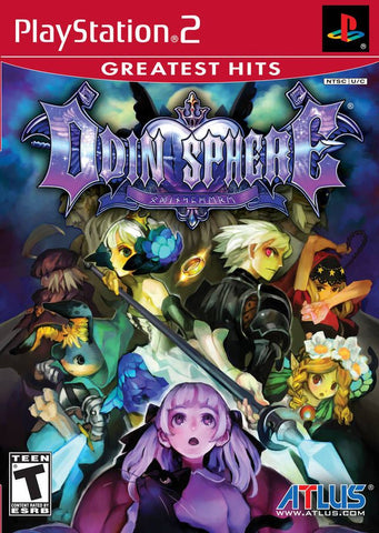 Odin Sphere (Sony PlayStation 2, 2007) Complete [Greatest Hits]