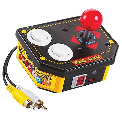 Jakks Pacific Namco Pac-Man 10 in 1 TV Video Game Plug and Play