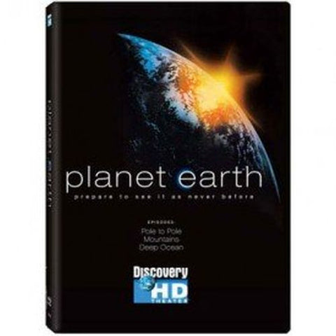 BBC/British/UK TV Planet Earth The Complete Series DVD/5 disc Discovery