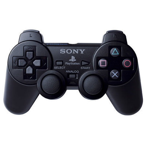 Sony PlayStation 2 PS2 Dual-shock Charcoal Black Controller (SCPH-10010) Wired