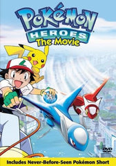 Pokemon Heroes the movie DVD - Games Found Here