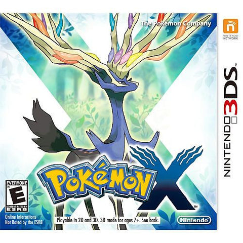 Pokemon X (Nintendo 3DS, 2013)