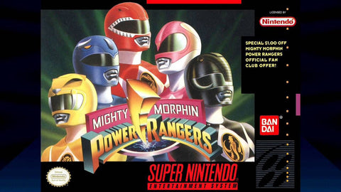 Mighty Morphin Power Rangers (Super Nintendo Entertainment System, 1994)