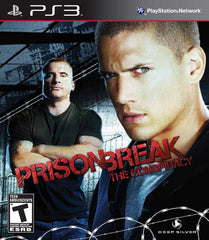Prison Break: The Conspiracy (Sony PlayStation 3, 2010) Complete