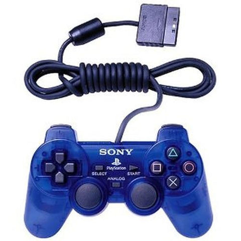 Sony PlayStation 2 Dualshock 2 OEM Controller PS2 Ocean Blue SCPH-10010
