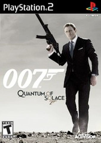 James Bond 007: Quantum of Solace (Sony PlayStation 2, 2008)